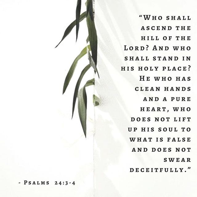 """Who shall ascend the hill of the Lord? And who shall stand in his holy place? He who has clean hands and a pure heart, who does not lift up his soul to what is false and does not swear deceitfully."" ‭‭Psalms‬ ‭24:3-4‬ ‭ESV‬‬ #churchplanting #gainesvillega #solacitychurch #gospelascenter"