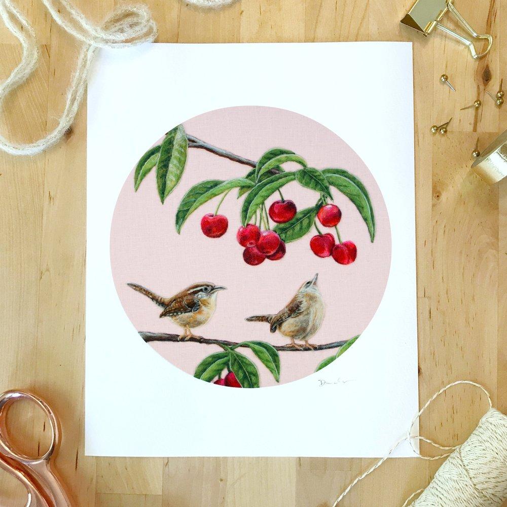 wrens cherries print.jpg