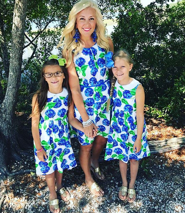 "@sweetsouthernprep and her girls sure know how to kick off summer, looking adorable and ready for family adventure! 💙☀️ Enter code ""sweetprep20"" and get their look at twenty percent off, this weekend only.  Happy MDW!"
