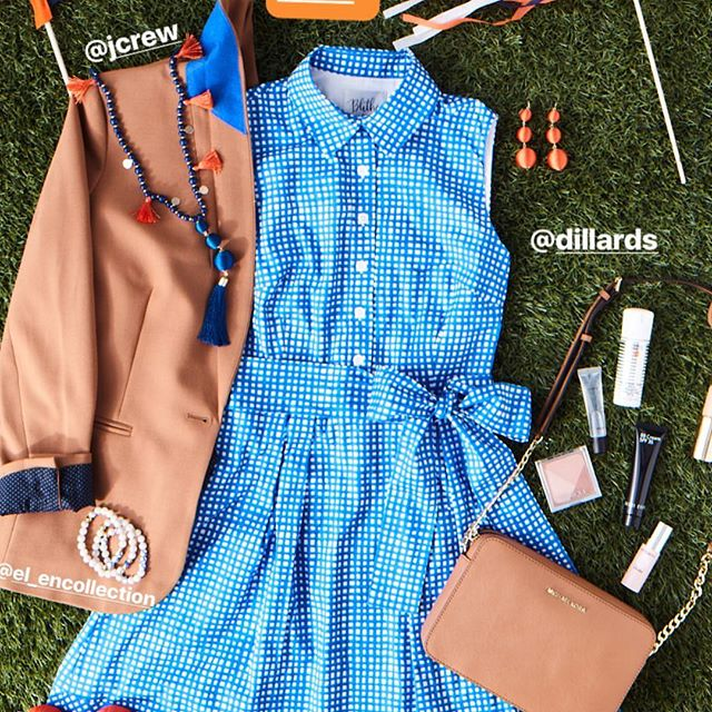 Hooray, hooray: It's game day! The team at @southernlivingmag has winningly styled the versatile Meg dress for four different SEC tailgates and the looks are all 🙌.