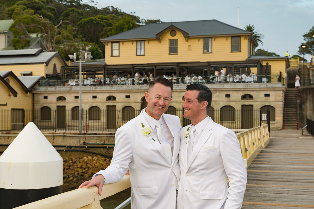 John & John  Rod is a consummate professional and really nice guy and super talented. Rod made everything effortless and captured amazing natural and posed shots. Having a photographer who is from the community and appreciates same sex unions and is able to capture the emotion, atmosphere and love is a talent. Rod is super easy to work with and we were so glad that he could be a part of and capture our special day. We highly recommend Rod!