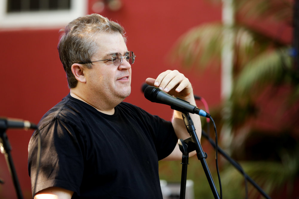 Patton Oswalt doing stand up at our LA Carnival in 2017
