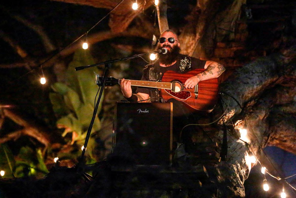 Tim Armstrong (Rancid) in a Tree at our 2016 LA Carnival