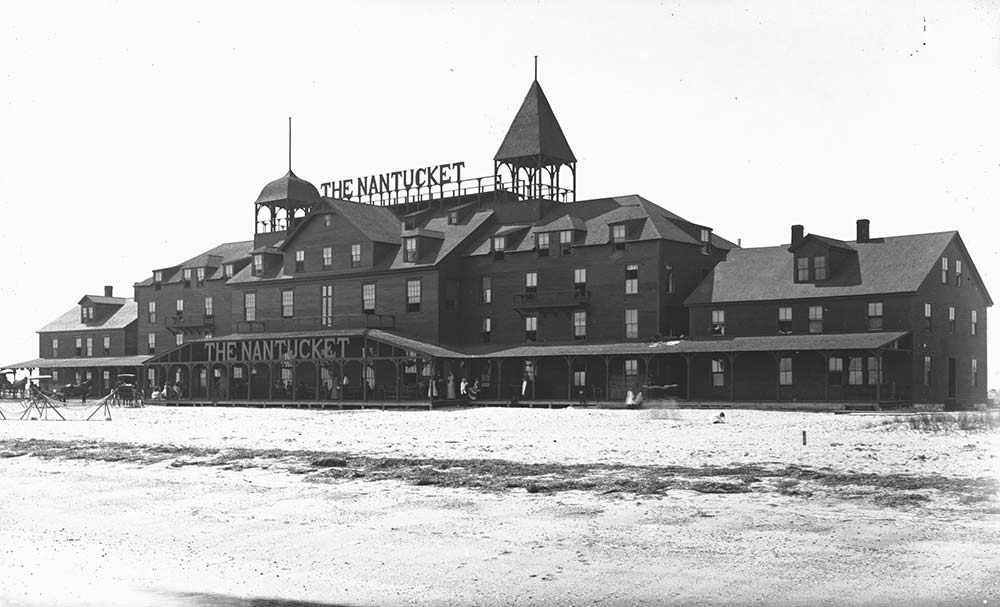 1883 in Nantucket. The building that would become the Dreamland