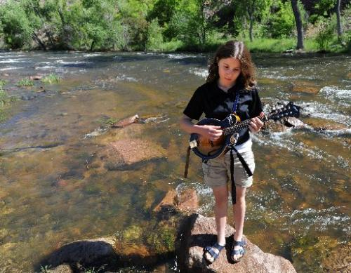 Bella Betts' musical artistry was refined near the St. Vrain River, at Planet Bluegrass in Lyons. (Cliff Grassmick/Daily Camera)
