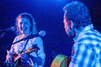 Bella Betts and Steve Szymanski entertain at Planet Bluegrass in April 2013. (Clark Hodge/Courtesy photo)