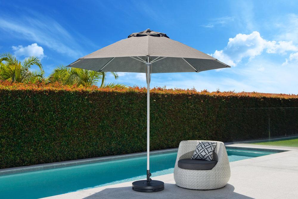 Fibreglass Umbrella 2.7m Oct Charcoal.jpeg