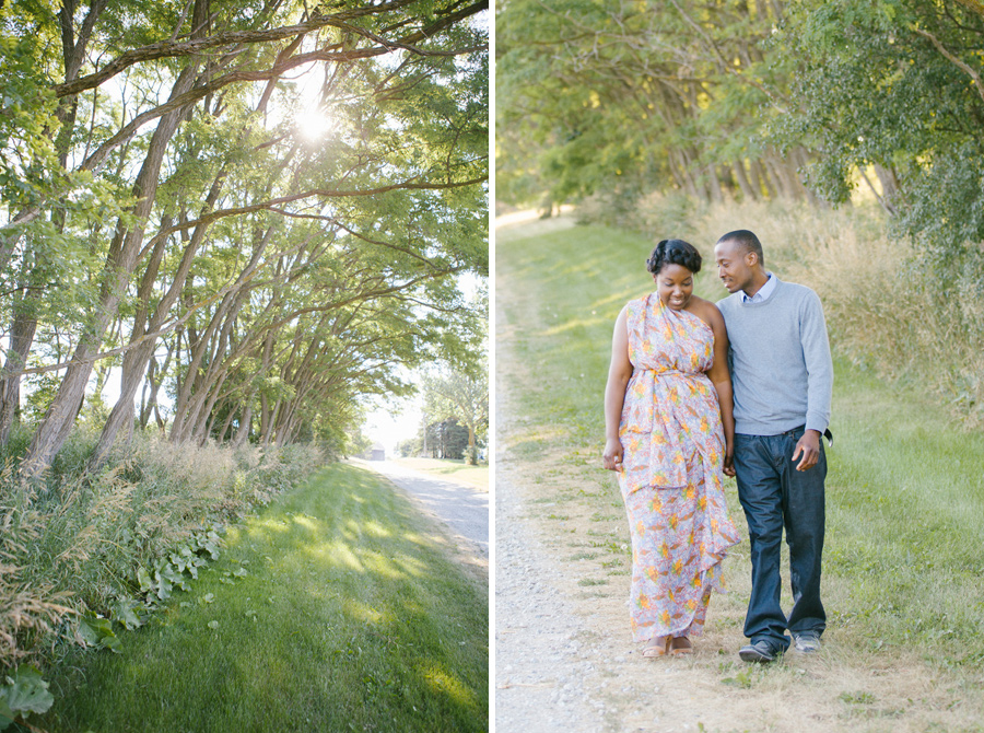 Tall Trees Engagement Photo