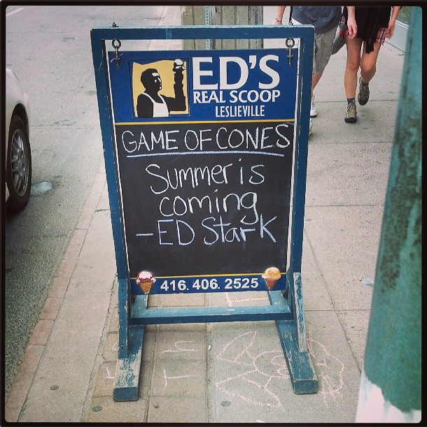 Ed's Real Scoop, Game of Cones