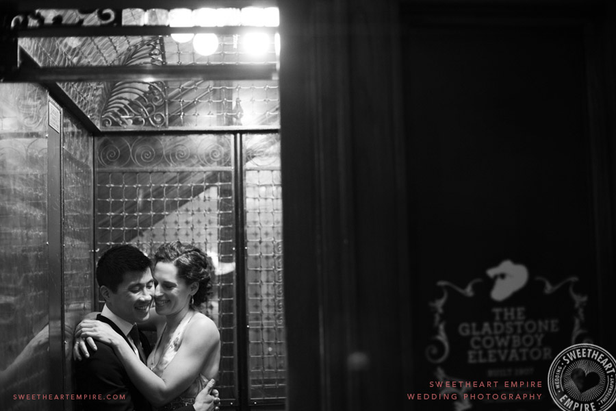 Gladstone Cowboy Elevator