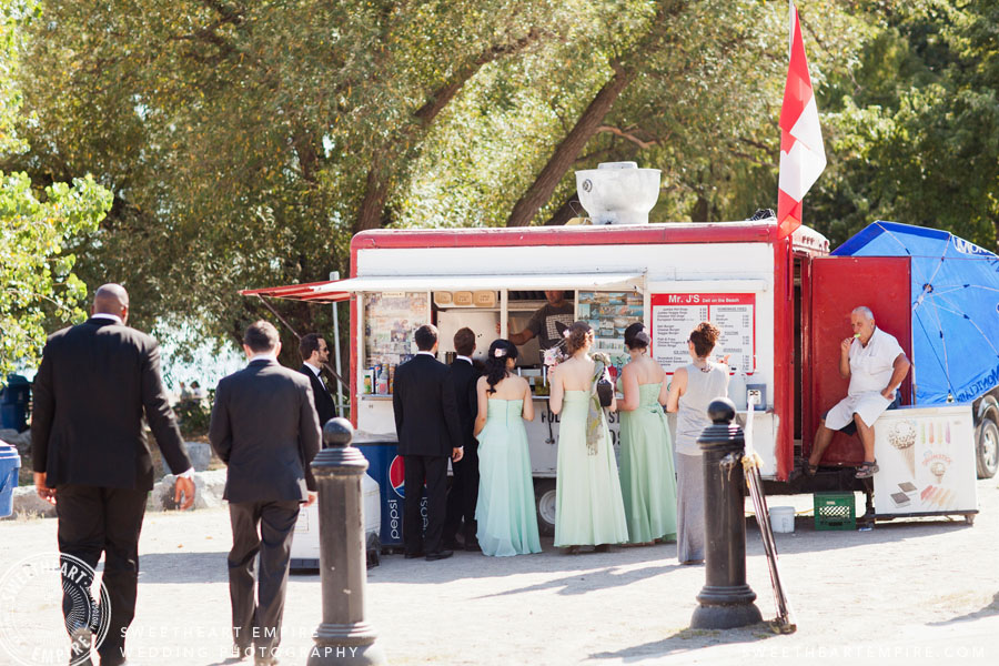 Food Truck Toronto Wedding