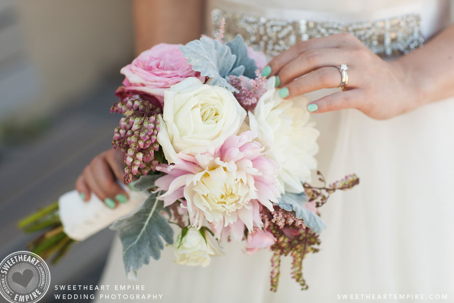 Summer colours Bridal bouquet