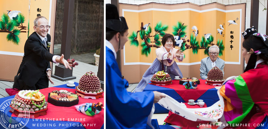 Mixed Couple Korean Tea Ceremony