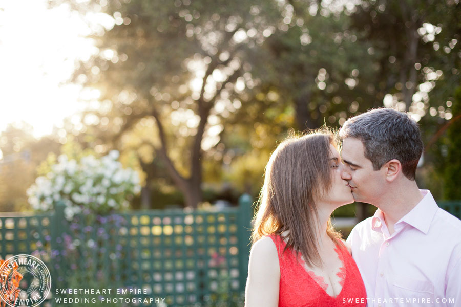 Elizabeth F. Gamble Gardens Engagement Photos