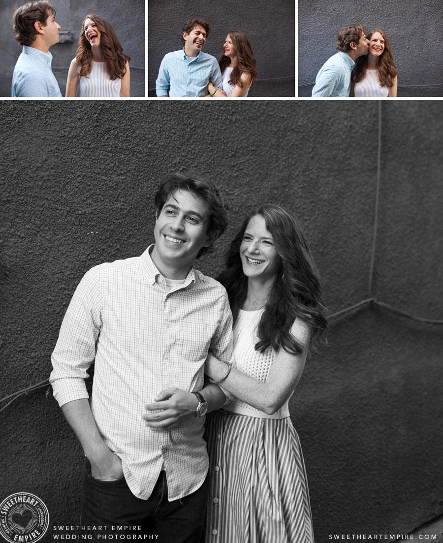 Kensington Market Engagement Photos