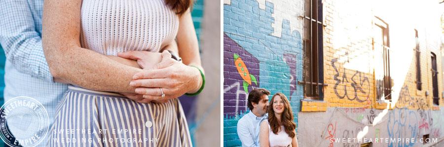 graffiti engagement photos
