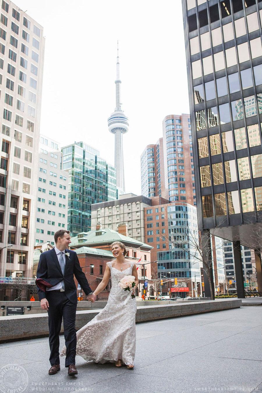 CN Tower Wedding Photos