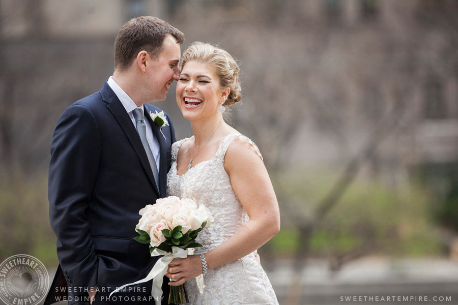 Toronto Financial District Wedding