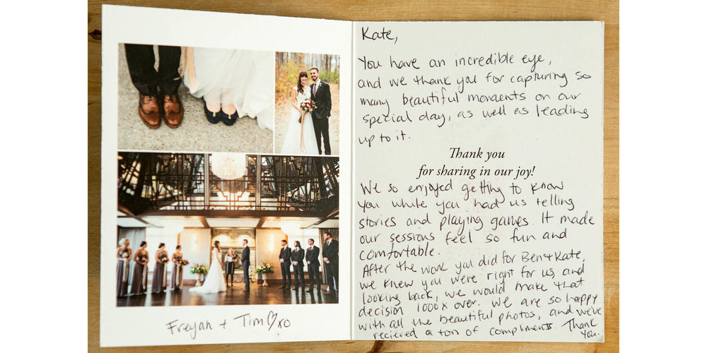 Whistle Bear Wedding Review