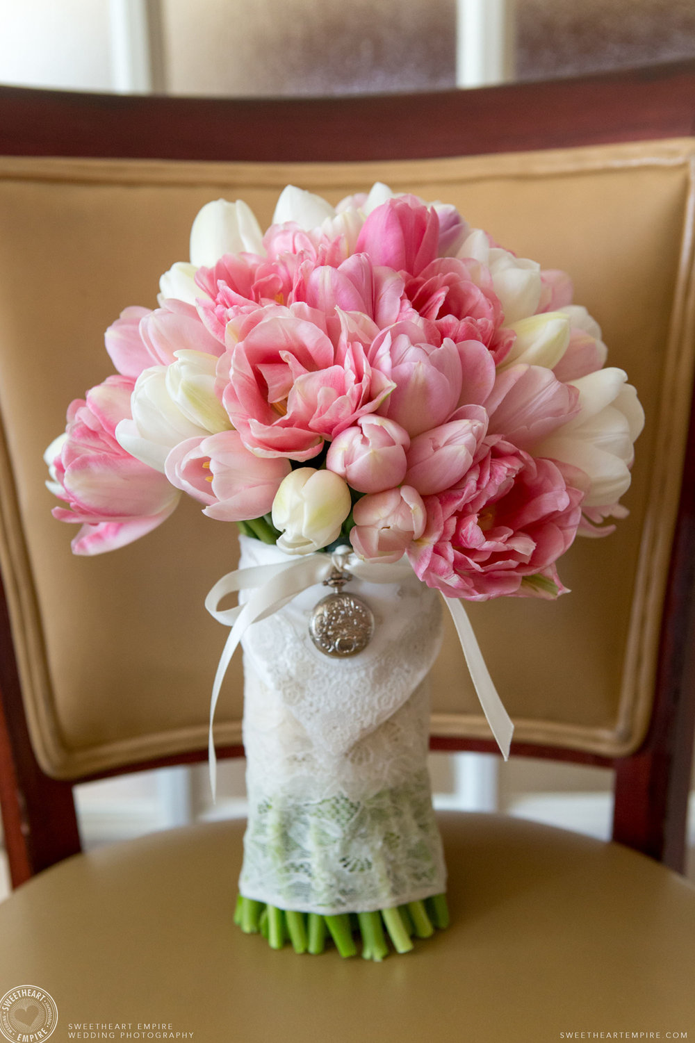 The bride's beautiful bouquet; Toronto Reference Library Wedding