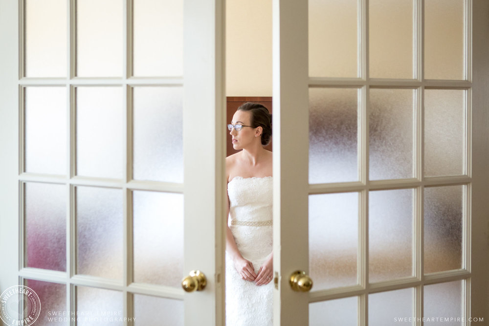 Portrait of the lovely bride; Toronto Reference Library Wedding