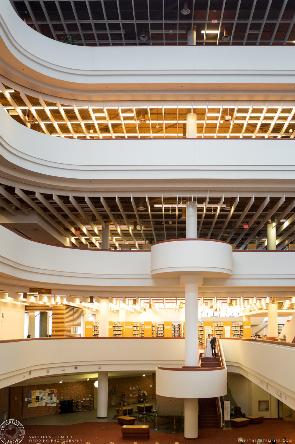 Stunning view of the Toronto Reference Library