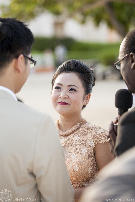 20_Beach wedding bride getting married.jpg