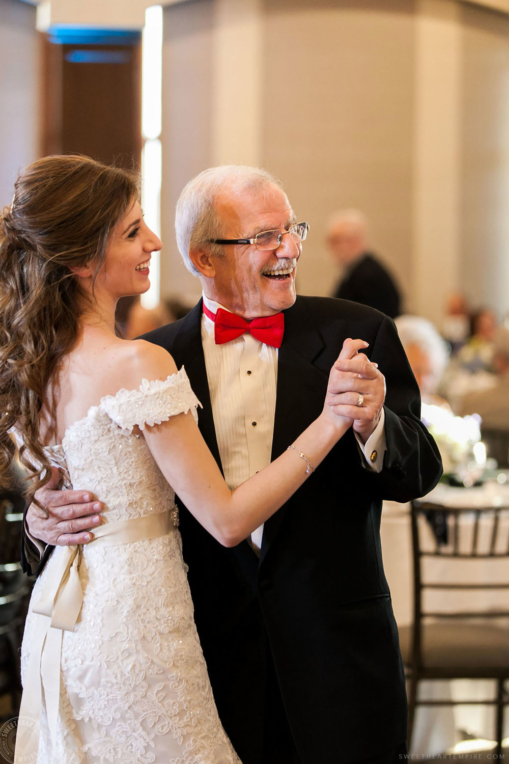 Bride dancing with her father, Eagles Nest Golf Club Wedding
