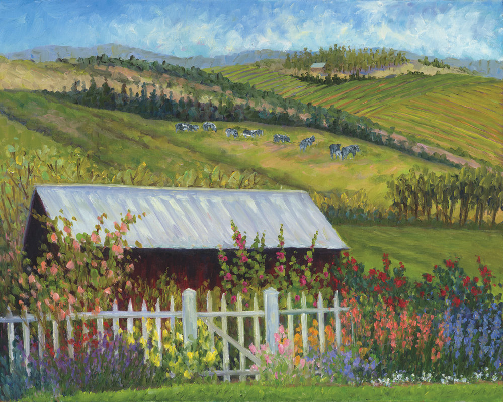 Hollyhock Barn