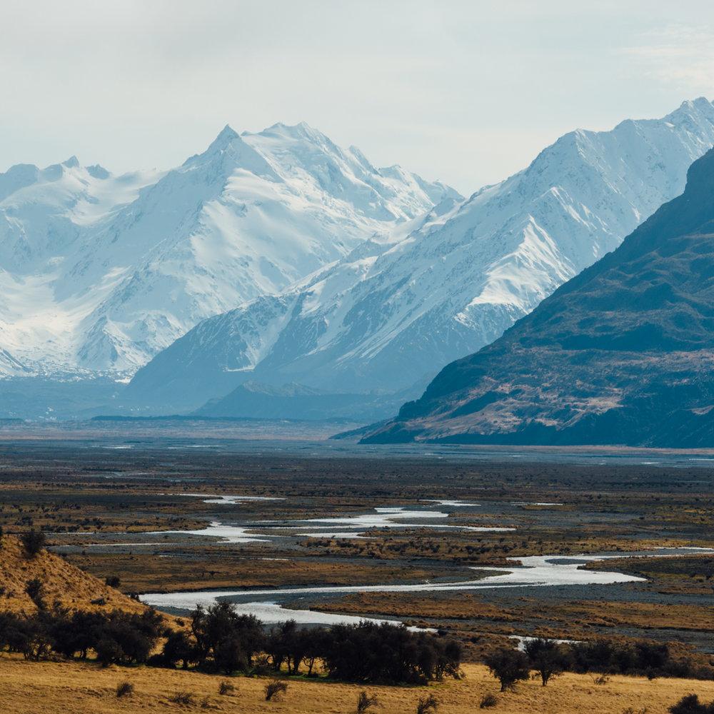 Mount Cook National Park!