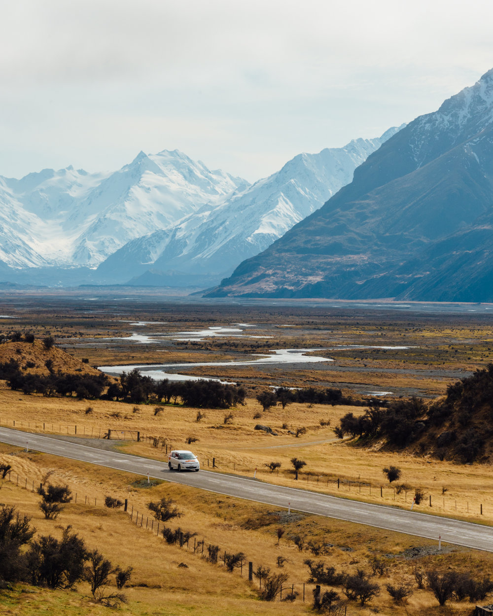 Road to Mount Cook
