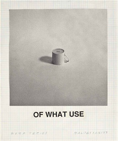 John Baldessari, Of What Use (from Goya Series), 1997