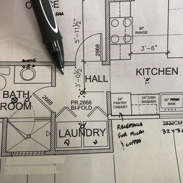 Sometimes you just spend your day gazing at your client's floor plans #greenvillesc #yeahthatgreenville #customhomebuilder