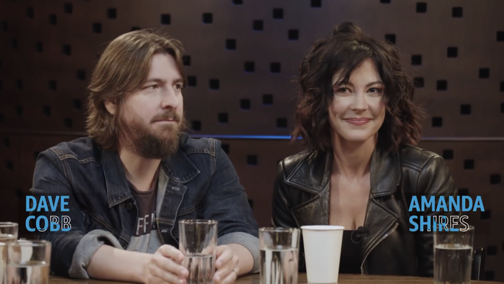 Dave Cobb & Amanda Shires for Amazon Music round table