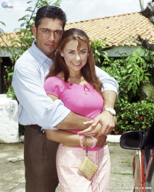 Abrázame Muy Fuerte. My first telenovela I ever watched and was engaged with along with my abuela. This made me have a much deeper appreciation of my roots and learning how to speak spanish.