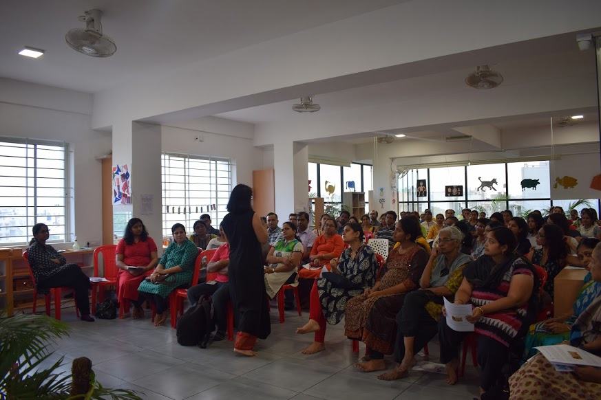Parent session with leading psychologist Dr Priya Pothan