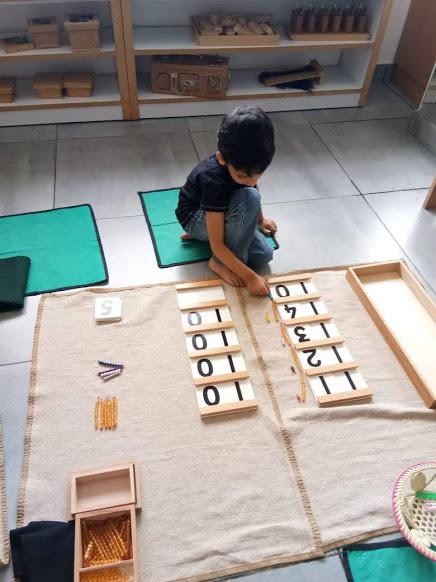 Montessori Math - Ten Board