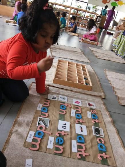 Montessori language - movable alphabets