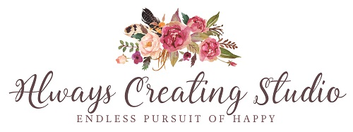 Always Creating Studio Brunch Event - logo
