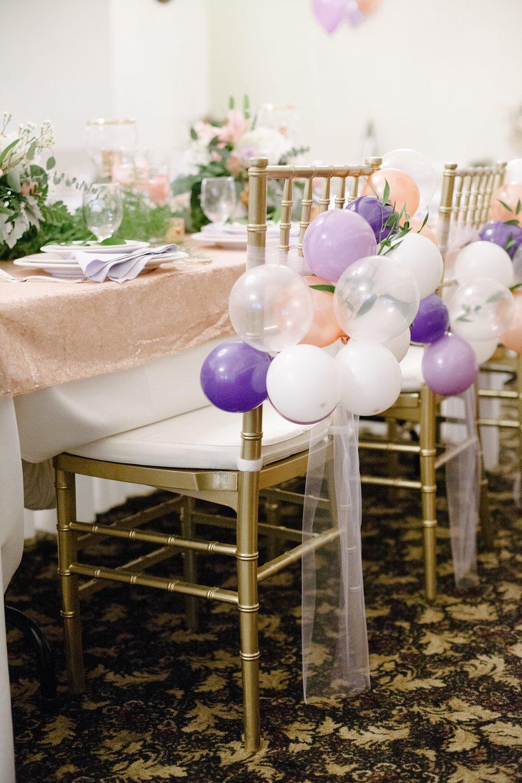American Legion Club Fairfax Virginia Event Planner Rose Gold