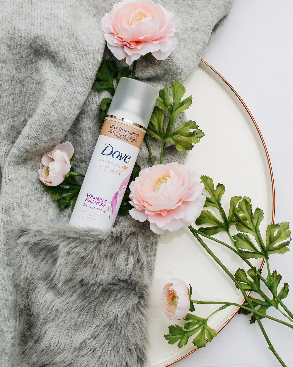 Social media content for DOVE skincare. Styling and photography by Glory Barbaris.