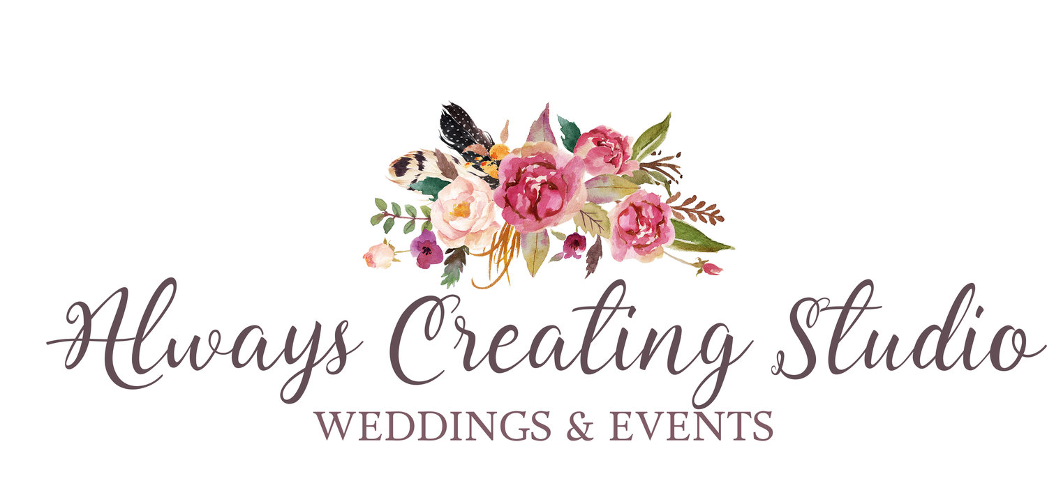 Always Creating Studio Weddings & Events