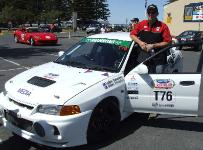Enjoying an EVO at Classic Adelaide