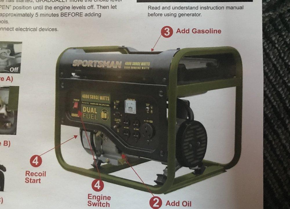 Sportsman 4000 Surge Watts