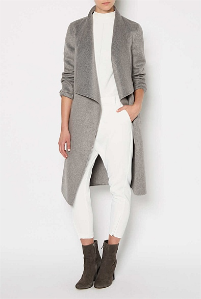 Wrap Trim Coat $399.95 Blair Pants $79.95