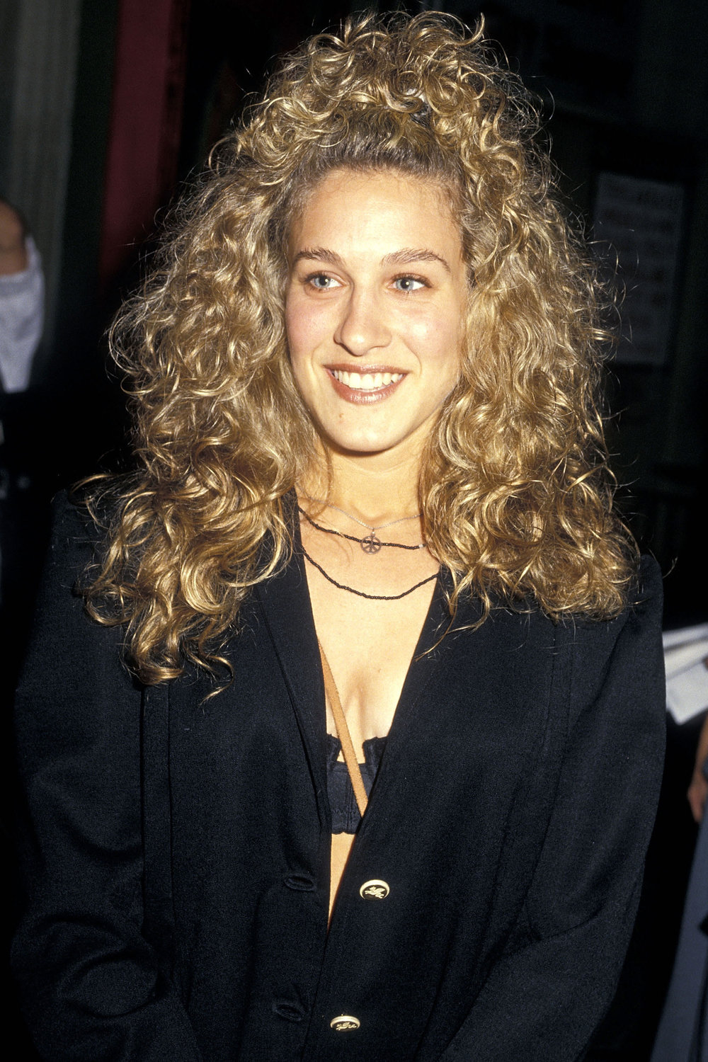 Photo      Even SJP had the perm.