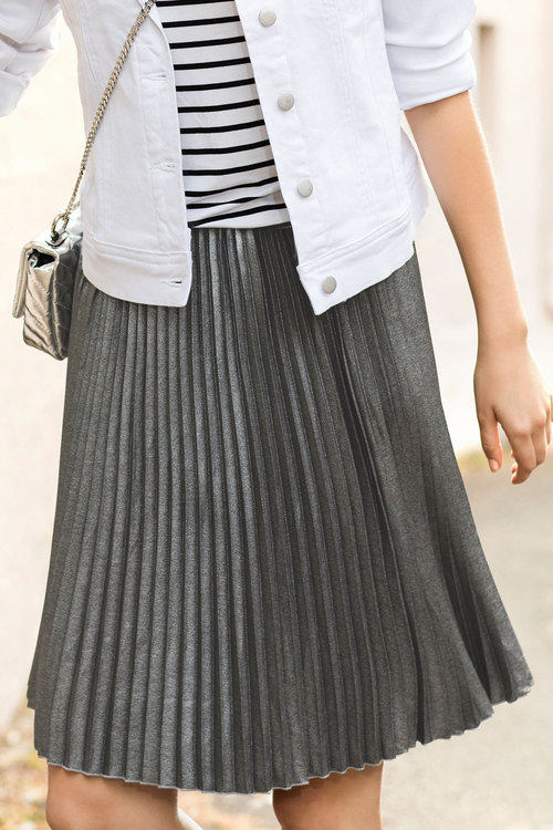 Ezibuy Emerge Pleated Skirt - down to $39.00.   Can be worn with black tights, ankle or long boots and a jumper or jacket.