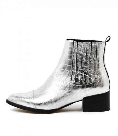 Mollini  Daquri Silver Croc Leather  $219.95  My ultimate loves this season.  I own in black and silver and have worn a lot already.