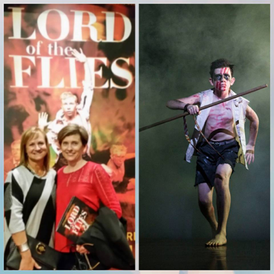 Tracey and Wendy at The Lord Of The Flies