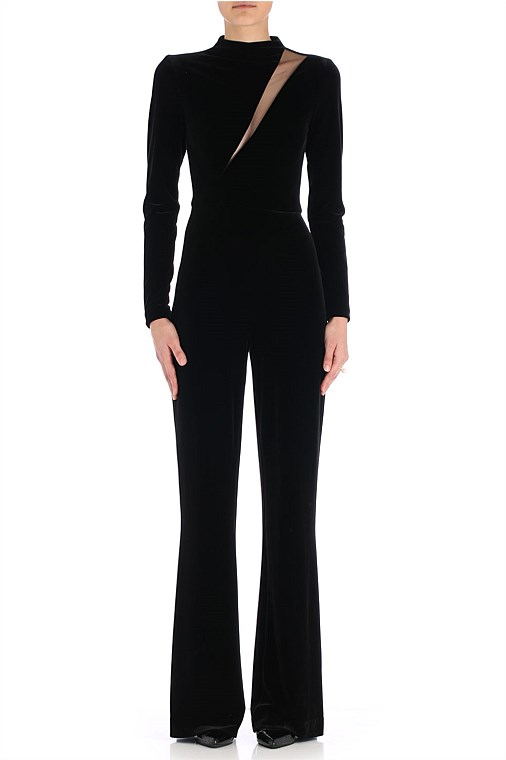 "This slimming ""Velvet Cantina"" jumpsuit also from Carla Zampatti is such a bargain.  Down from $929.00 to $279.00.  Shop here"